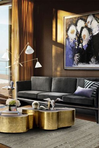 50 Magnificent Luxury Living Room Designs 5