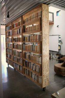 80 Incredible Room Dividers and Separators With Selves Ideas 40