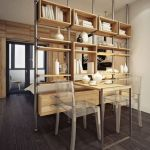 80 Incredible Room Dividers and Separators With Selves Ideas 43
