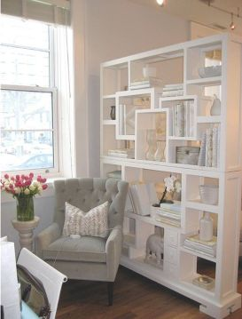 80 Incredible Room Dividers and Separators With Selves Ideas 51