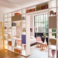 80 Incredible Room Dividers and Separators With Selves Ideas 7