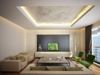 Modern and Contemporary Ceiling Design for Home Interior 40