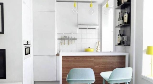 Small Kitchen for Apartment Design and Ideas