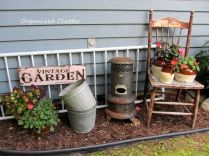 50 Rustic Backyard Garden Decorations 10