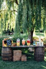 50 Rustic Backyard Garden Decorations 15