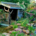 50 Rustic Backyard Garden Decorations 30