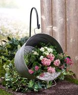 50 Rustic Backyard Garden Decorations 49