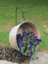 50 Rustic Backyard Garden Decorations 56