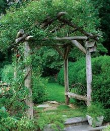50 Rustic Backyard Garden Decorations 6