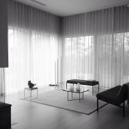 Beauty and Elegant White Curtain for Bedroom and Living Room 17