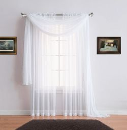 Beauty and Elegant White Curtain for Bedroom and Living Room 35