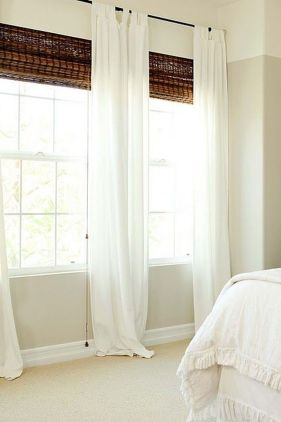Beauty and Elegant White Curtain for Bedroom and Living Room 45