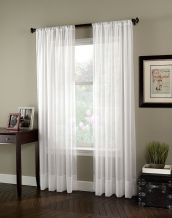 Beauty and Elegant White Curtain for Bedroom and Living Room 59