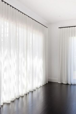 Beauty and Elegant White Curtain for Bedroom and Living Room 6
