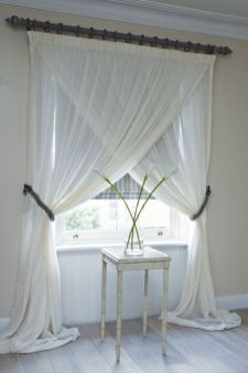 Beauty and Elegant White Curtain for Bedroom and Living Room 61