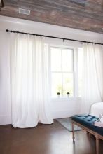 Beauty and Elegant White Curtain for Bedroom and Living Room 7