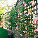 Cool Privacy Fence Wooden Design for Backyard 24