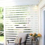 Cool Privacy Fence Wooden Design for Backyard 43