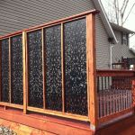Cool Privacy Fence Wooden Design for Backyard 89