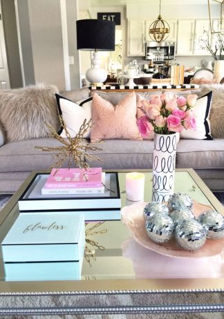 Cozy and Colorful Pastel Living Room Interior Style 1