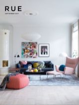 Cozy and Colorful Pastel Living Room Interior Style 14