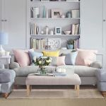 Cozy and Colorful Pastel Living Room Interior Style 15