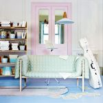 Cozy and Colorful Pastel Living Room Interior Style 17