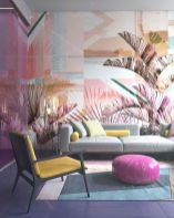 Cozy and Colorful Pastel Living Room Interior Style 23
