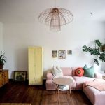 Cozy and Colorful Pastel Living Room Interior Style 27