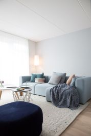 Cozy and Colorful Pastel Living Room Interior Style 38
