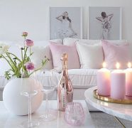 Cozy and Colorful Pastel Living Room Interior Style 4