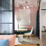 Cozy and Colorful Pastel Living Room Interior Style 46