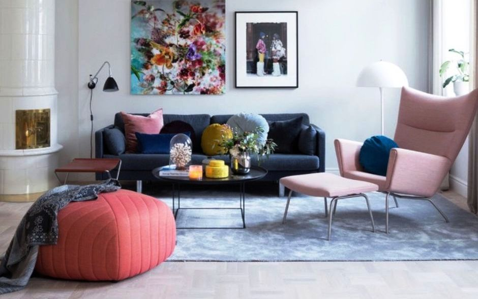 Cozy and Colorful Pastel Living Room Interior Style & How to Make Cozy Living Room with Colorful Pastel Color Style ...