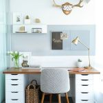 Inspiring Simple Work Desk Decorations and Setup 16