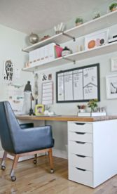 Inspiring Simple Work Desk Decorations and Setup 40