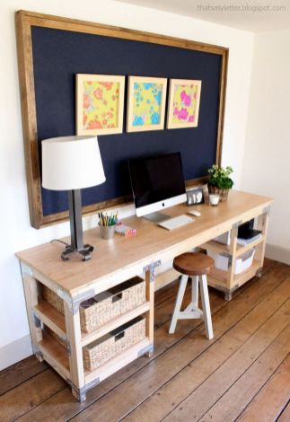 Inspiring Simple Work Desk Decorations and Setup 7