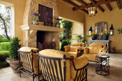 Rustic Italian Tuscan Style for Interior Decorations 55