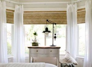 White Curtain for Bedroom and Living Room