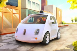 Google automated car prototype
