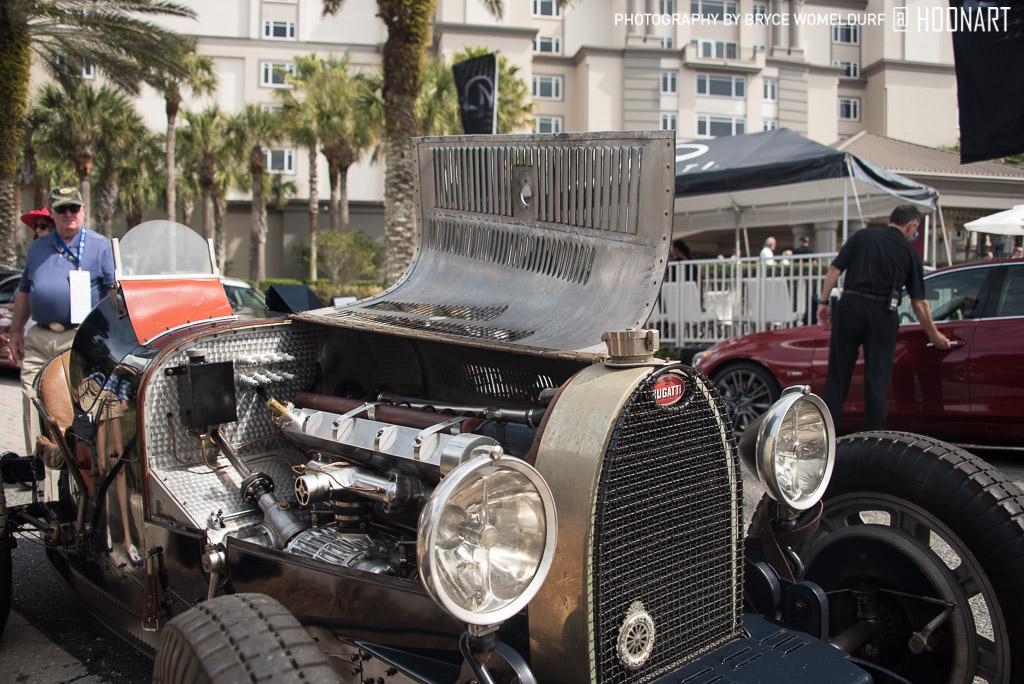 Bugatti Type 35 Pur Sang at Amelia Island