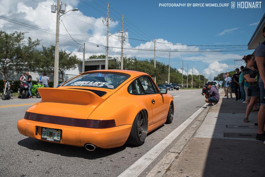Orange 964 Porsche 911