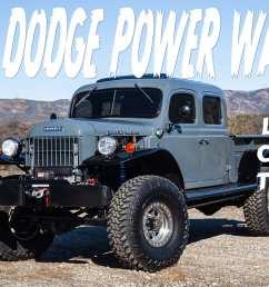legacy clic trucks has built a big bold bad 1949 dodge power wagon [ 1500 x 1000 Pixel ]