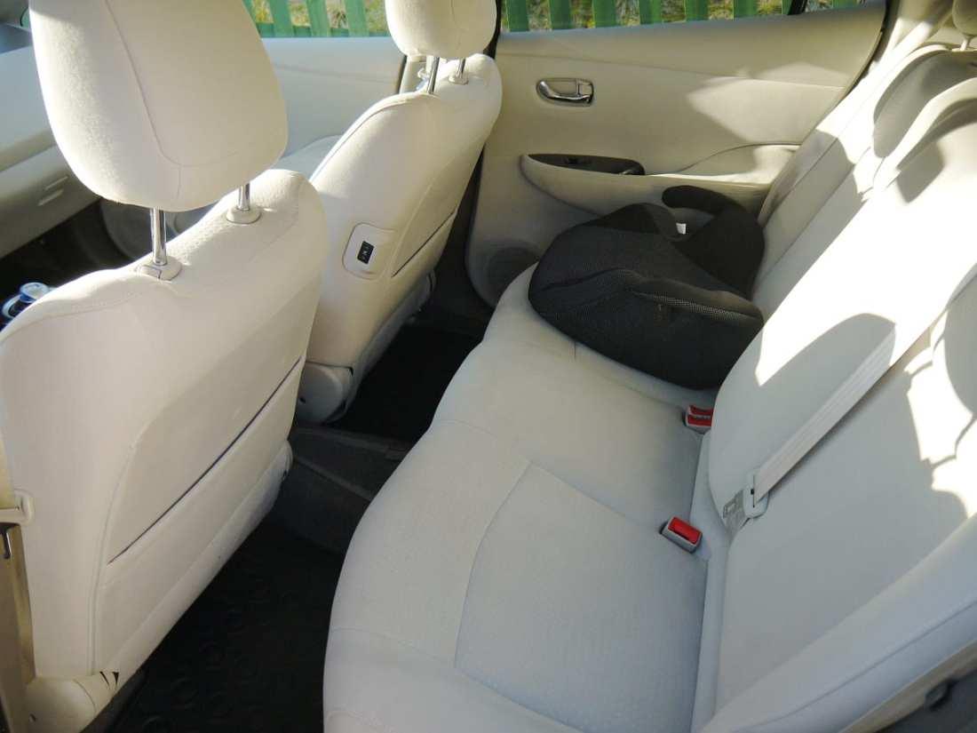 nissan leaf rear seat