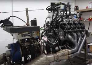 Ford Godzilla 7.3L V8 Dyno