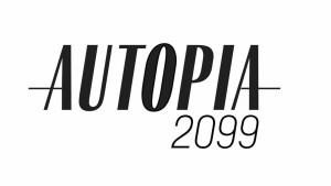 Autopia 2099 electric car show logo