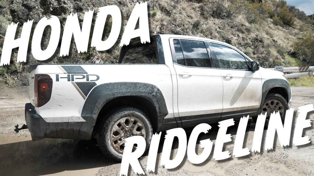 2021 honda ridgeline off road