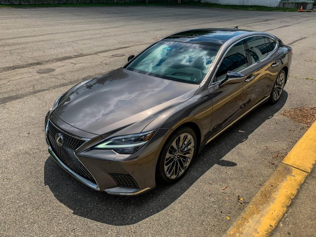 2021 Lexus LS 500   Review