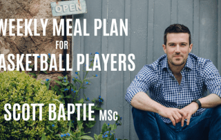 Weekly Meal Plan for Basketball Players