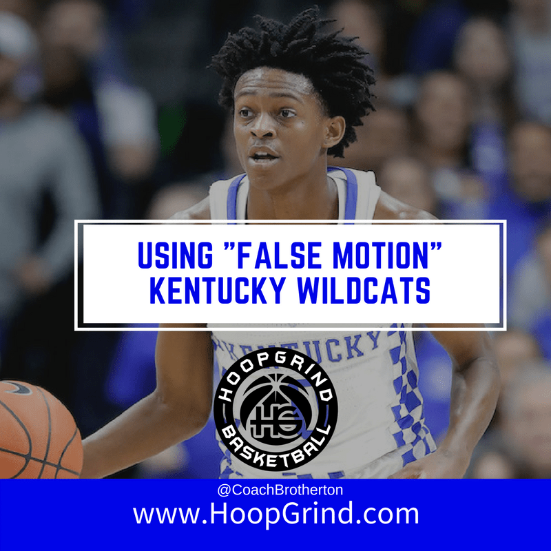 Using False Motion: Kentucky Wildcats