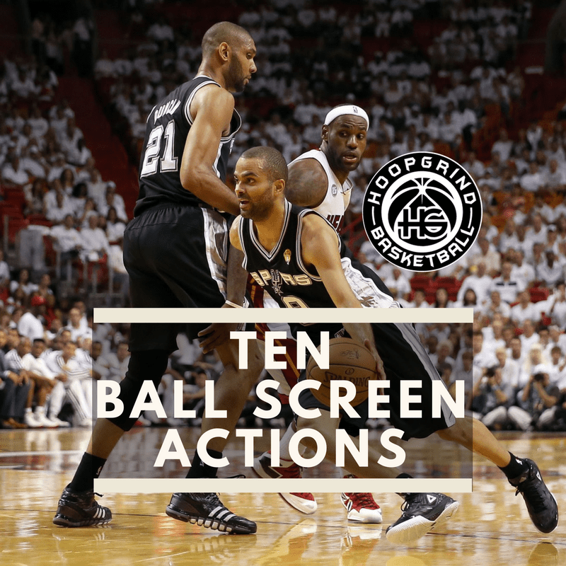 Ten Ball Screen Actions